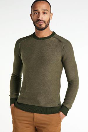 gemêleerde trui Akstumi groen