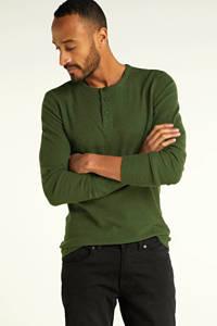 BOSS Casual longsleeve groen, Groen