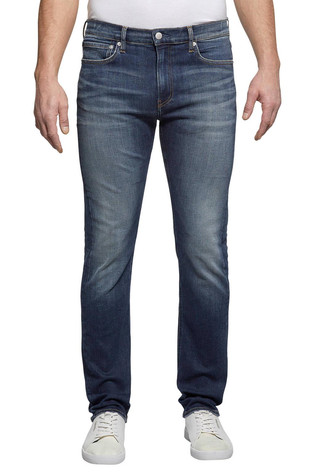 CALVIN KLEIN JEANS slim fit jeans dark blue, Dark Blue