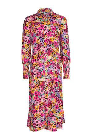 maxi jurk Kanni met all over print multi color