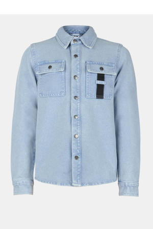denim overhemd Blain light denim