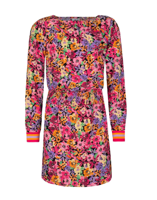 Shoeby Jill & Mitch jurk Kimma met all over print multi color, Multi color