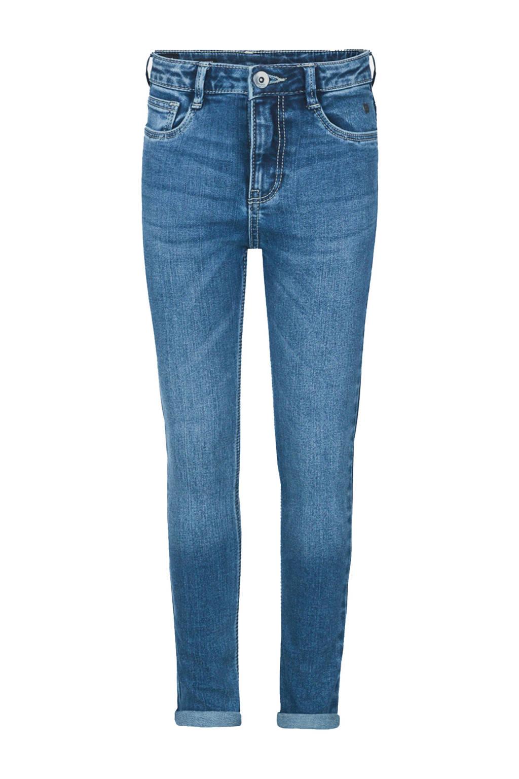 Jill & Mitch by Shoeby high waist skinny jeans Milou blauw, Blauw