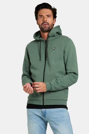 vest Keano met logo groen