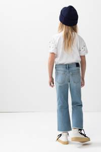 Shoeby Jill & Mitch high waist bootcut jeans Lieke blauw, Blauw