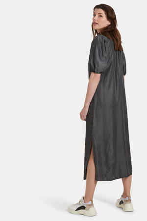 maxi jurk Yara grijs