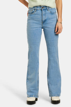 high waist flared jeans Susan bleached