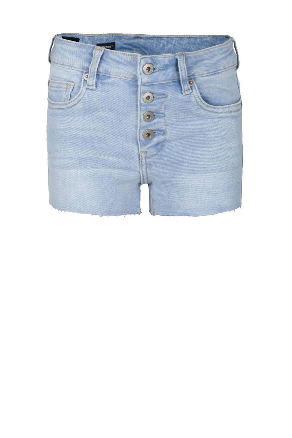 Jill & Mitch by Shoeby high waist jeans short Teddy light denim, Light denim