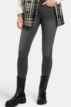 high waist skinny jeans Liza Edith lengtemaat 32 grijs