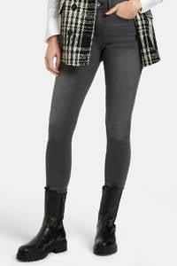 Eksept by Shoeby high waist skinny jeans Liza Edith lengtemaat 34 grijs, Grijs