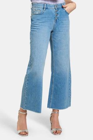 cropped wide leg jeans Lieke lichtblauw