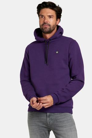 hoodie Keano met logo paars