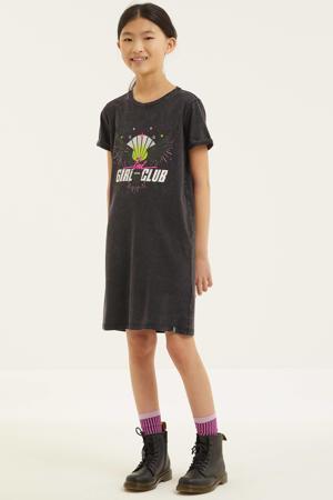 T-shirtjurk Alita van biologisch katoen zwart