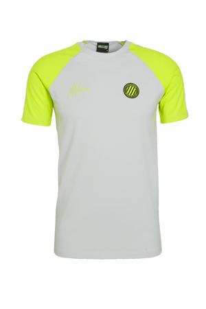 T-shirt grijs/groen