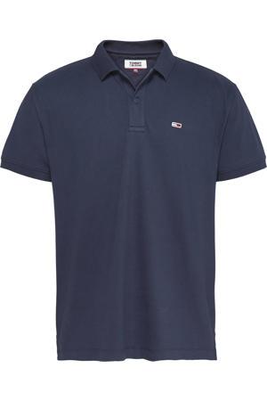 regular fit polo met logo donkerblauw