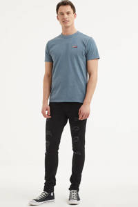 Tommy Jeans T-shirt blauw, Blauw