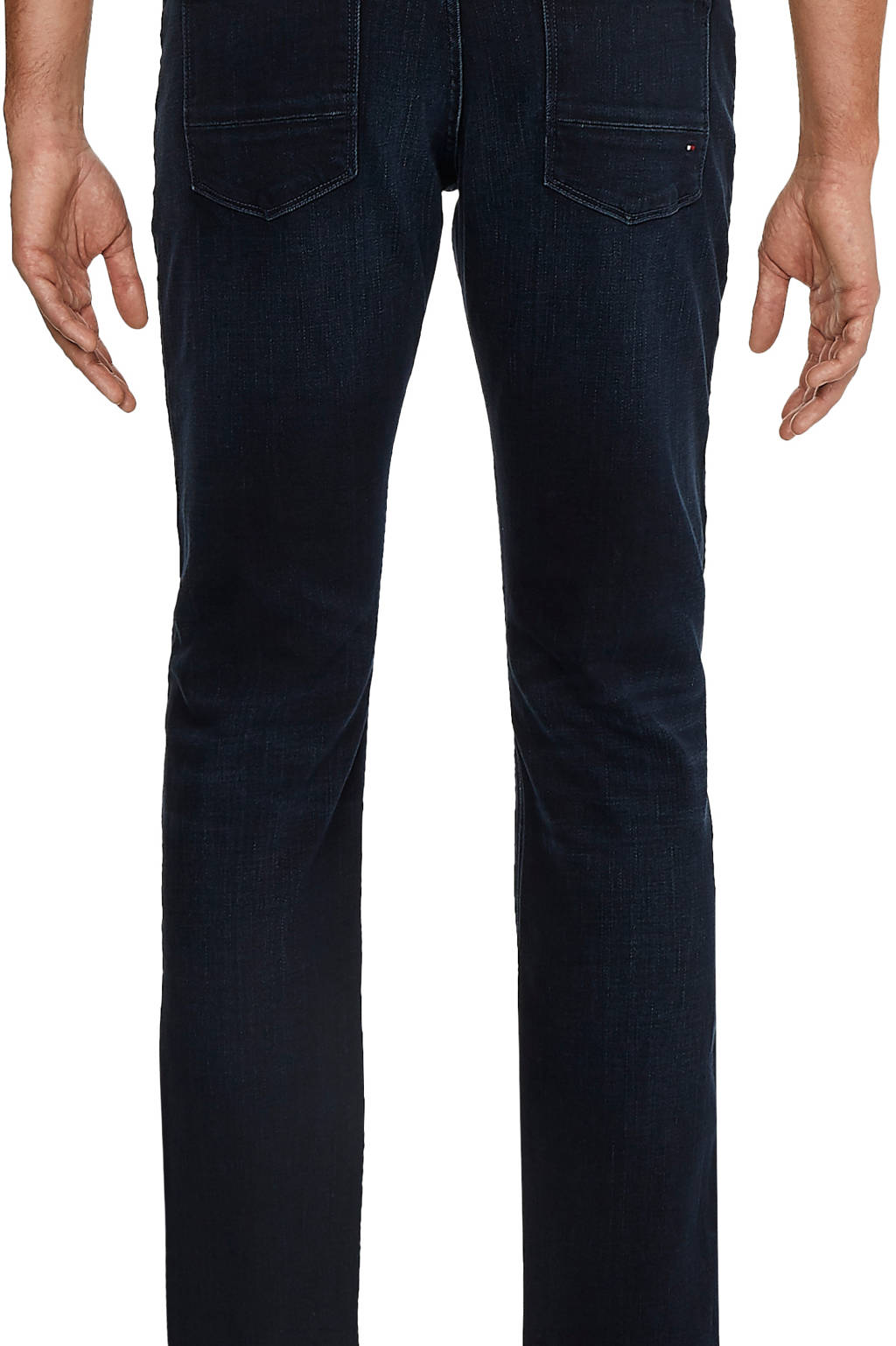 Tommy Hilfiger straight fit jeans Core Denton 919 blue black, 919 Blue black