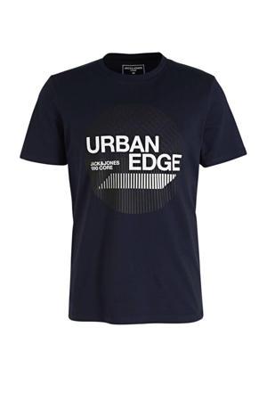 T-shirt BOOSTER met printopdruk donkerblauw