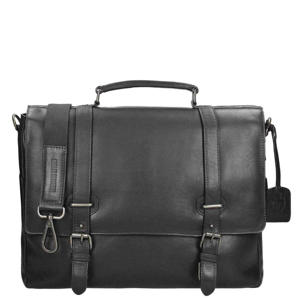 Roma Briefcase 2 Compartments zwart
