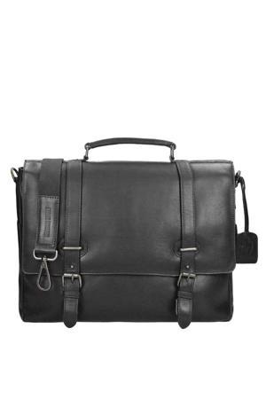 Roma Briefcase 2 Compartments zwart