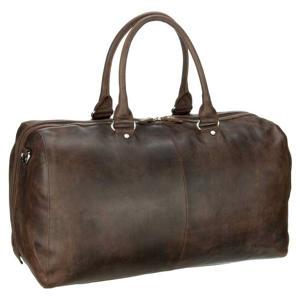 leren Salisbury Travel Bag zwart