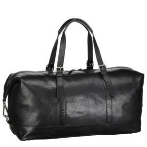 leren Roma Travel Bag zwart