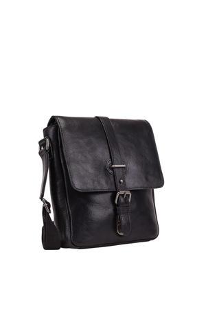 Roma Tablet Shoulder Bag zwart