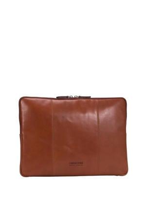 15.4 inch Cambridge S laptopsleeve cognac