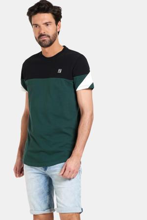 T-shirt Tom donkergroen