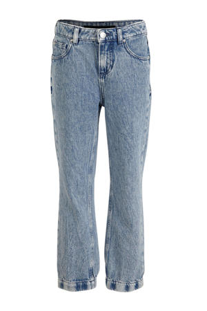 boyfriend jeans van biologisch katoen blauw