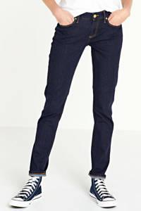 Tommy Hilfiger low waist slim fit jeans met biologisch katoen dark denim, Dark denim