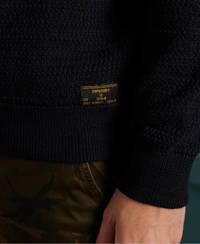 Superdry gemêleerde trui KEYSTONE CREW donkerblauw, Donkerblauw