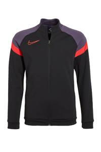 Nike   sportjack zwart/rood, Zwart/rood