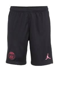 Nike Junior Paris Saint Germain voetbalshort zwart/felroze, Zwart/felroze