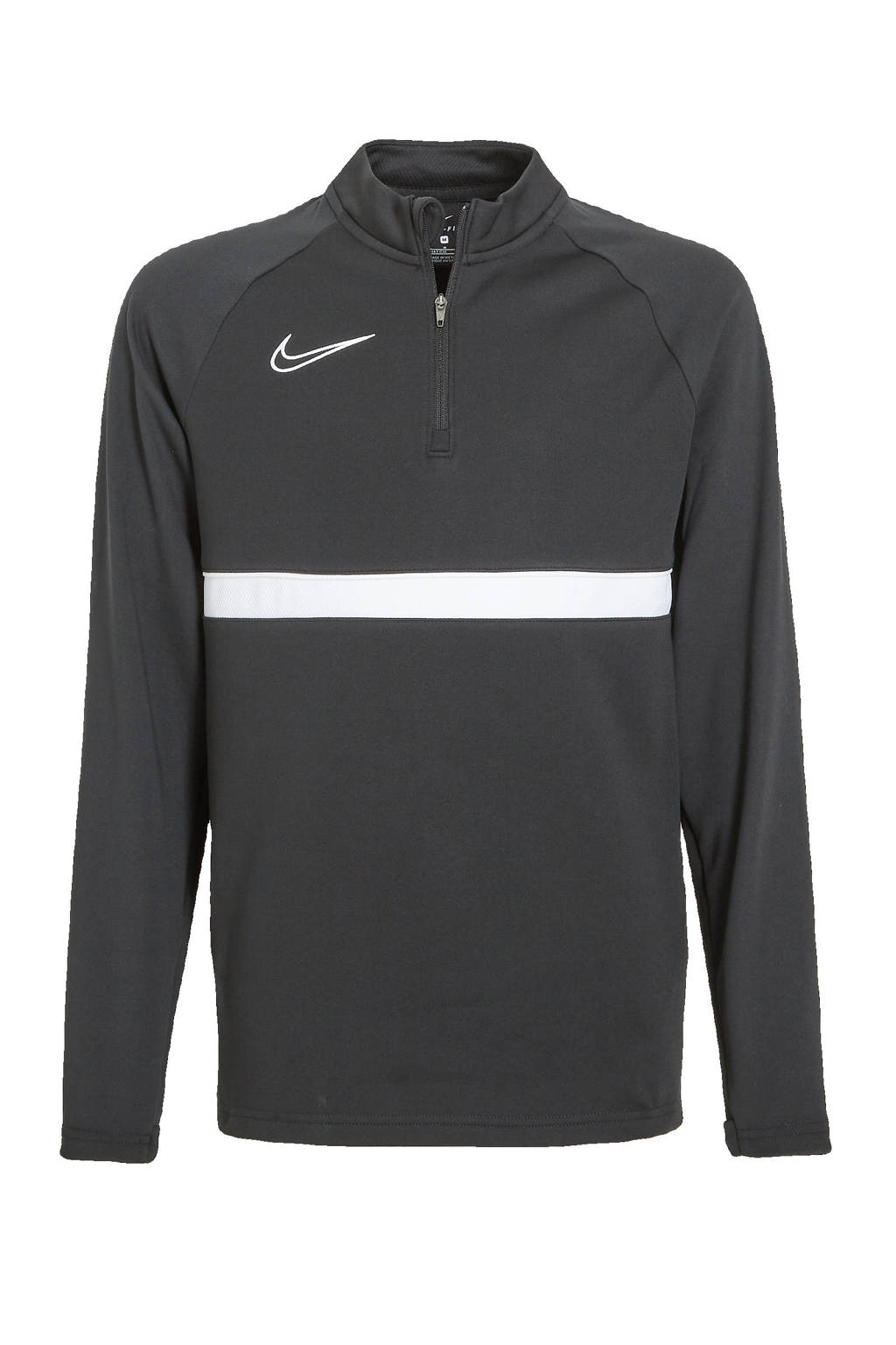 Nike Junior  voetbalshirt zwart/wit, Zwart/wit