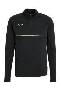 Nike Senior  voetbalshirt zwart/limegroen, zwart/limegren