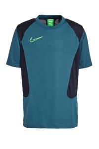Nike   voetbalshirt donkergroen/zwart/felgroen