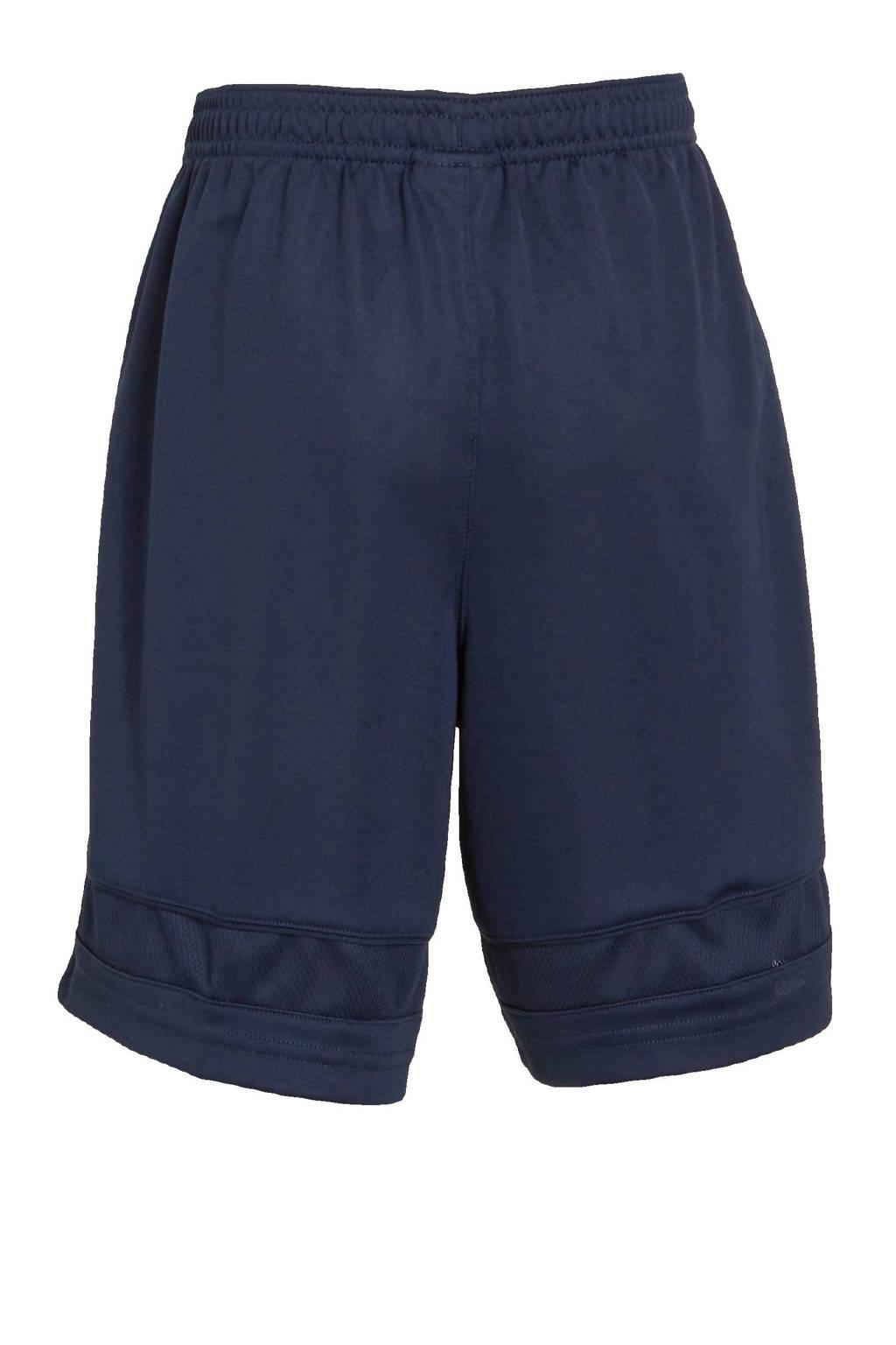 Nike   sportshort donkerblauw/wit, Donkerblauw/wit