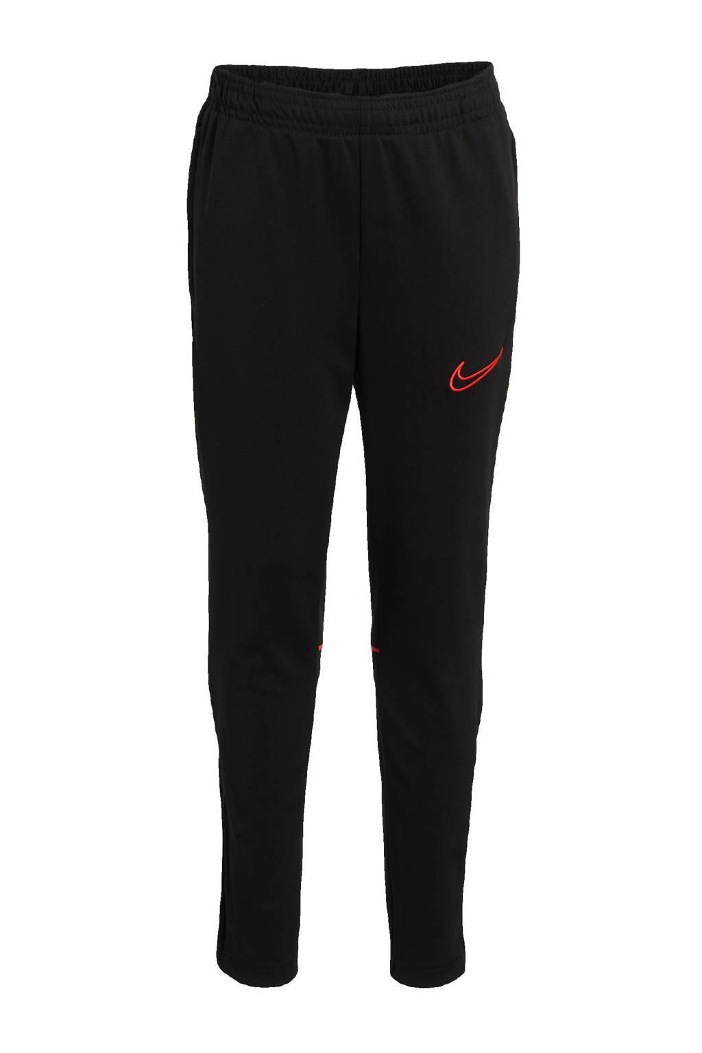 Nike Junior  trainingsbroek zwart/rood, Zwart/rood