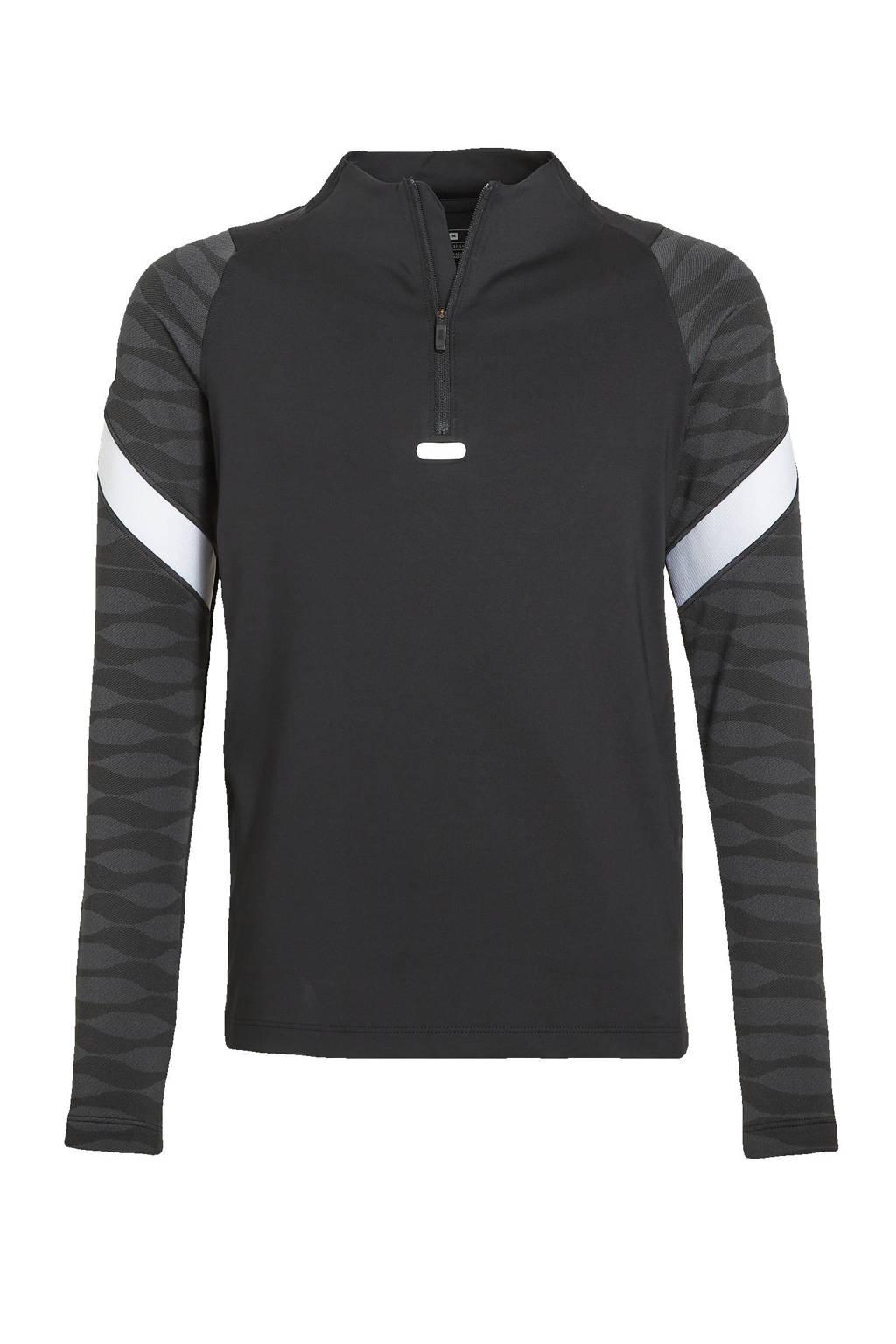 Nike   shirt zwart/antraciet/wit, Zwart/antraciet/wit
