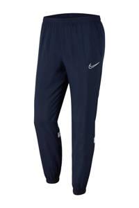 Nike Senior  trainingsbroek donkerblauw/wit, Donkerblauw/wit