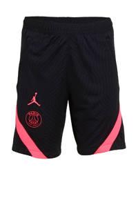 Nike   voetbalshort zwart/felroze, Zwart/felroze