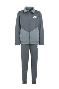 Nike   trainingspak grijs/wit, Grijs/wit