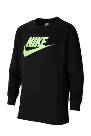 sweater zwart/zachtgeel