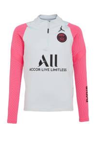 Nike   voetbalshirt grijs/roze/zwart, Grijs/roze/zwart