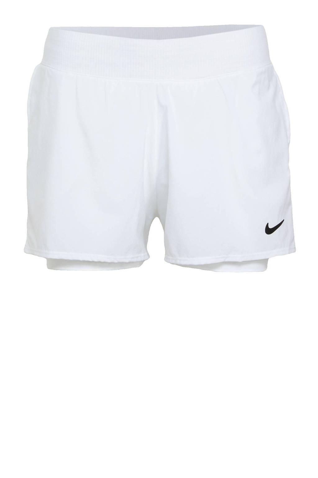 Nike sportshort wit, Wit