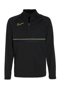 Nike Junior  voetbalshirt zwart/groen, zwart/felgroen/groen
