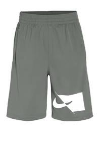 Nike short grijs/wit, Grijs/wit