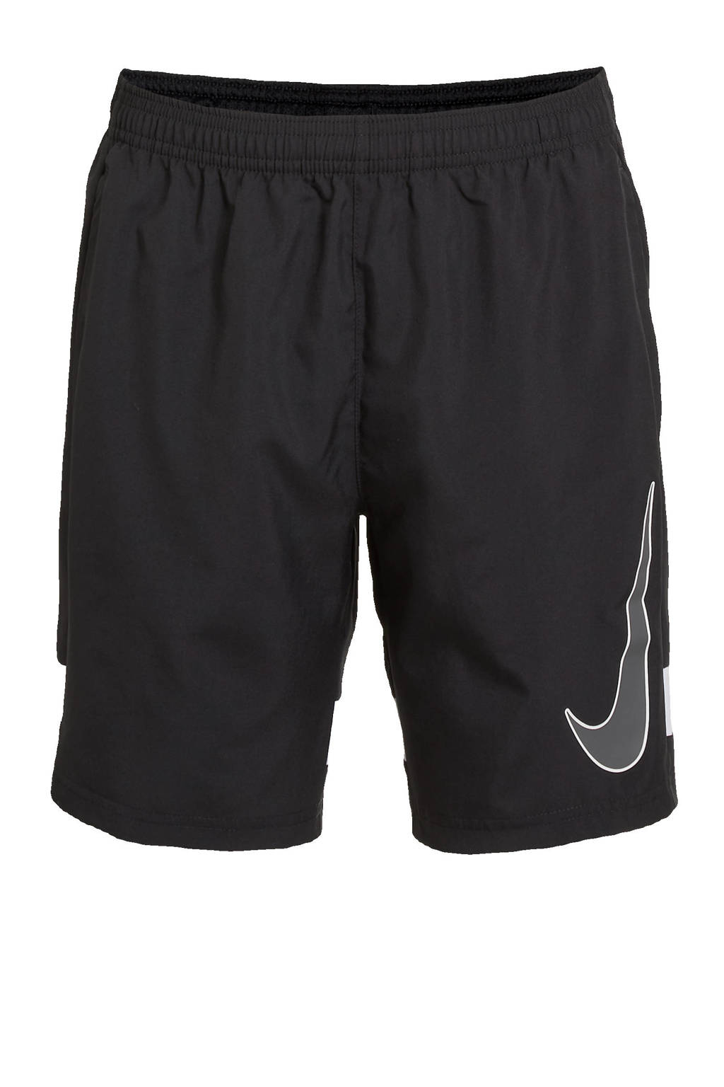 Nike Junior  sportshort zwart/wit, Zwart/wit