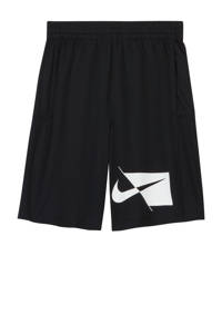 Nike short zwart/wit, Zwart/wit